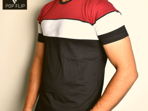 Cotton Tshirt Color Block