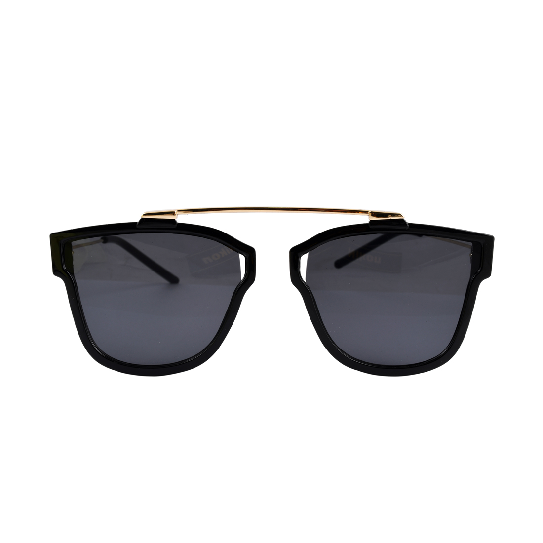 Black with Golden Wayfarer