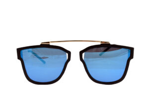 Blue with Golden Wayfarer