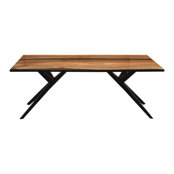 100676 Aero Carbon Resin Dining Table 200x100x75 Cms Homebience 3