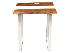 Ivory Resin Dining Table 2 Seater