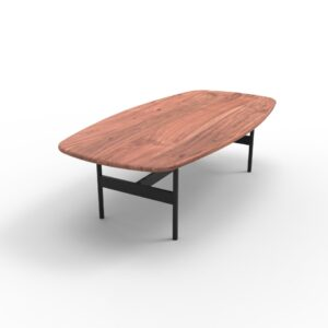 Scandi Coffee Table Natural Acacia (L)