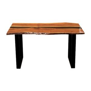Carbon Resin Dining Table 4-6 Seater