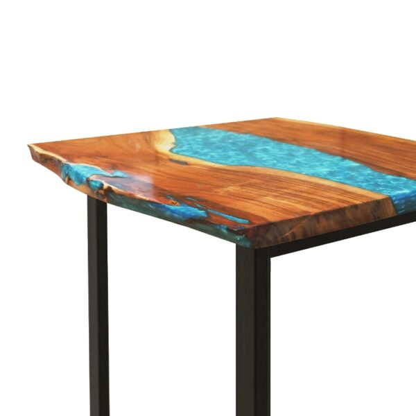 Coral Resin Dining Table 2 Seater