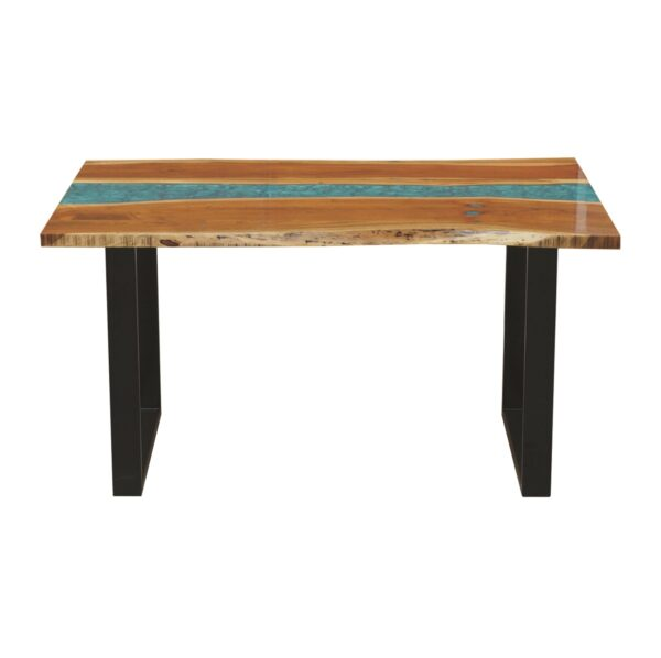 Coral Resin Dining Table 6 Seater2