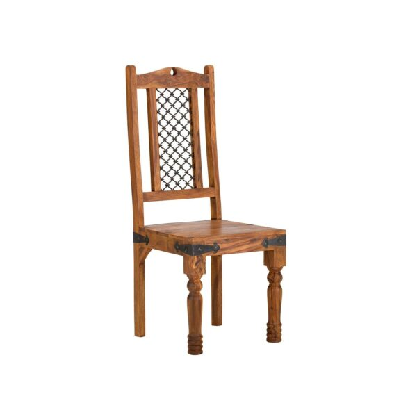 Takhat Jali Dining Chair Pair