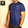 Navy Blue Half Sleeve T-Shirt